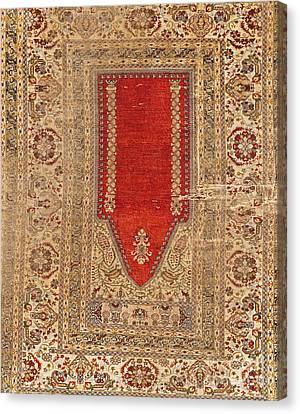 Turkish Carpet Canvas Print by Emirali  KOKAL