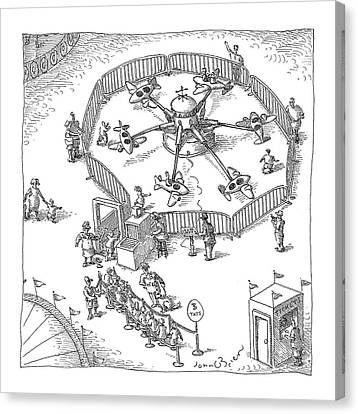 New Yorker November 8th, 2004 Canvas Print by John O'Brien