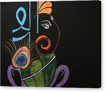 30 Vignaharta Ganesh Canvas Print