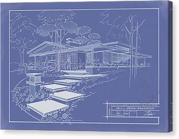 301 Cypress Drive - Reverse Canvas Print
