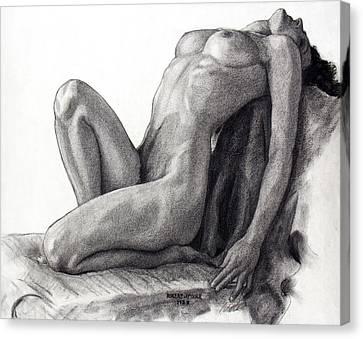 Infinite Surrender Canvas Print by Robert Poole