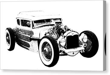 31 Model A Canvas Print by Guy Whiteley