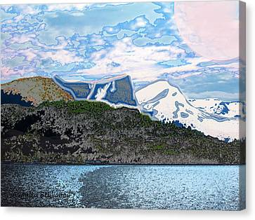 Norway  Landscape Canvas Print