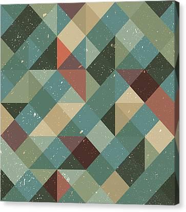 Decorative Canvas Print - Pixel Art by Mike Taylor