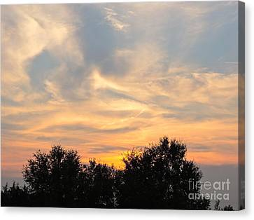 Sunset Canvas Print by Frank Conrad