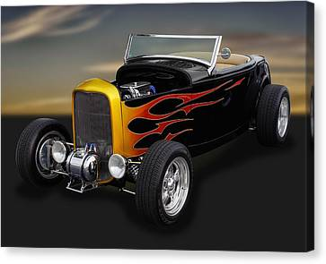 1932 Ford - Grounds 4 Divorce Canvas Print by Frank J Benz