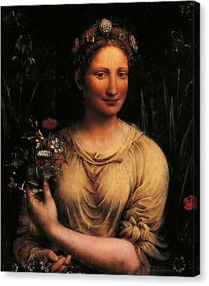 Italy, Lazio, Rome, Borghese Gallery Canvas Print by Everett