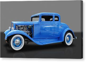 1932 Pontiac Sport Coupe 5 Window Canvas Print