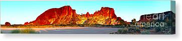 Rainbow Valley Canvas Print by Bill  Robinson
