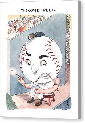 New Yorker June 10th, 2002 Canvas Print by Barry Blitt
