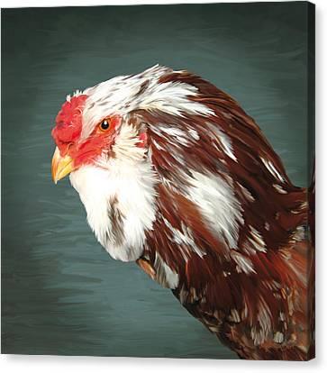 33. Orlov Head Canvas Print