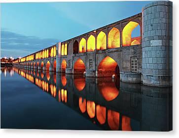 33 Pol Canvas Print by Mohammadreza Momeni