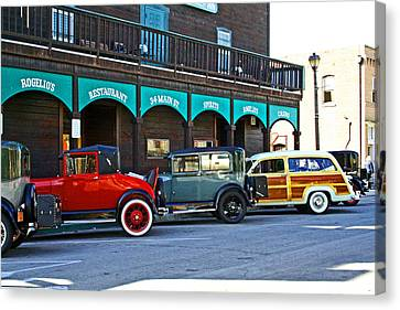 34 Main St Isleton Canvas Print by Joseph Coulombe