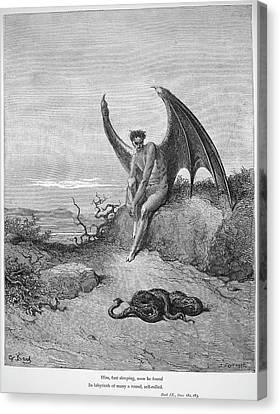 Milton Paradise Lost Canvas Print by Granger