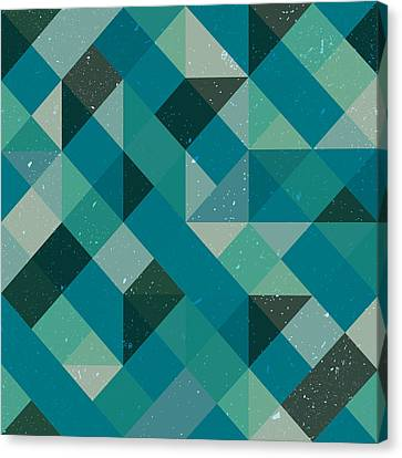 Pixel Art Canvas Print by Mike Taylor
