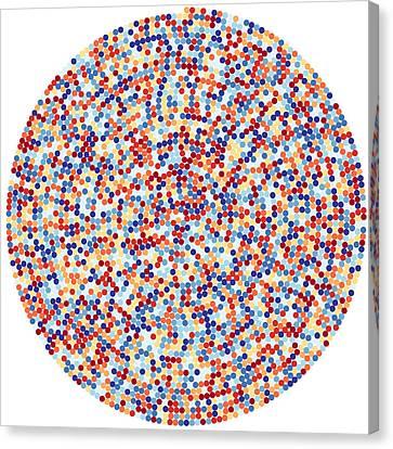 3422 Digits Of Pi Canvas Print