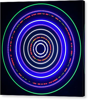 Portal Canvas Print - Multicoloured Light Trails by Lawrence Lawry