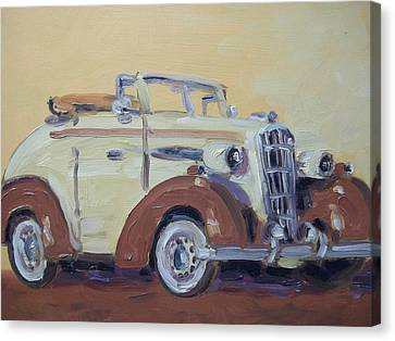 35' Oldsmobile Canvas Print by Robert Martin