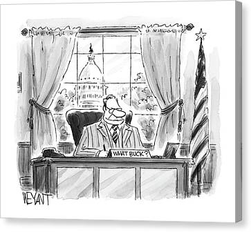 New Yorker July 25th, 2005 Canvas Print