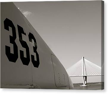 Canvas Print featuring the photograph 353 by Paul Foutz