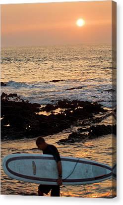 Shoreline Old Men Canvas Print - Hawaii by Sergi Reboredo