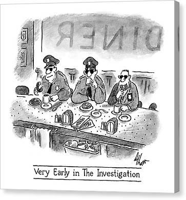 New Yorker November 17th, 2008 Canvas Print