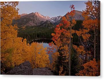Usa, Colorado, Rocky Mountain National Canvas Print