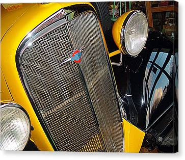 37 Chevy Panel Delivery Canvas Print by John Bushnell