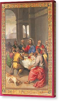 Last Supper Canvas Print - Italy, Marche, Pesaro Urbino, Urbino by Everett