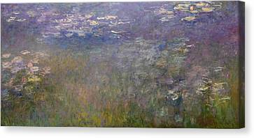 Kansas City Canvas Print - Water Lilies by Claude Monet