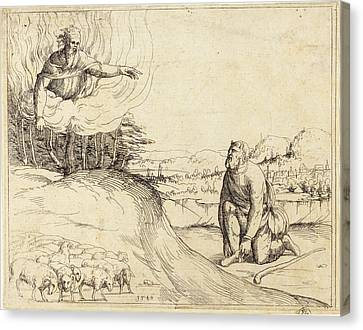 Augustin Hirschvogel German, 1503 - 1553 Canvas Print by Quint Lox
