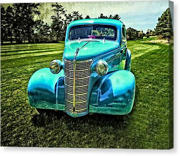 38 Chevrolet Classic Automobile Canvas Print