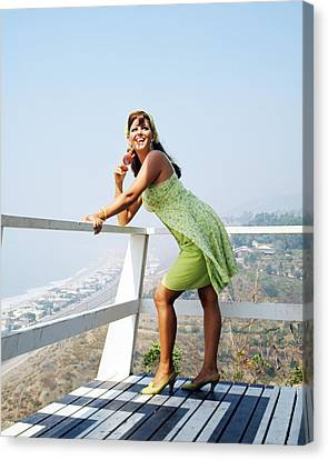 Claudia Cardinale Canvas Print by Silver Screen
