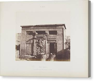 Archeological Site Canvas Print - Photograph Of The Egyptian Landscape by British Library