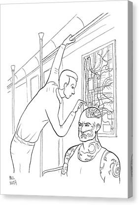 New Yorker April 21st, 2008 Canvas Print