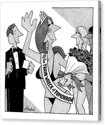 New Yorker April 14th, 2008 Canvas Print