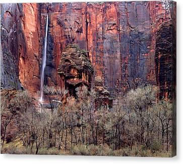Zion National Park, Utah Canvas Print by Scott T. Smith