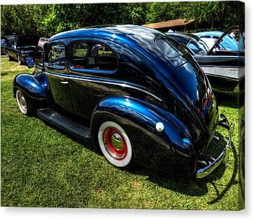 '39 Dodge Sedan 002 Canvas Print by Lance Vaughn