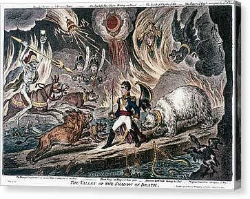 Napoleon Bonaparte (1769-1821) Canvas Print by Granger