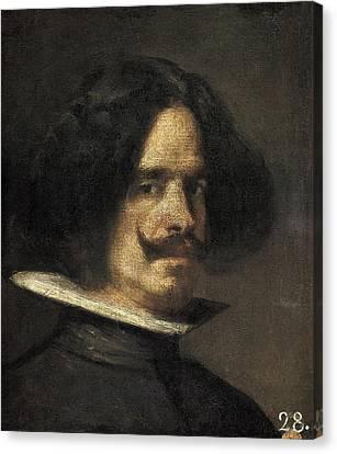 Velazquez, Diego Rodr�guez De Silva Canvas Print by Everett