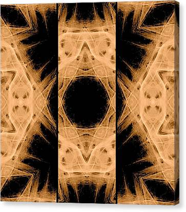 3d Abstract Fractal Canvas Print by Maggie Vlazny