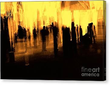 Canvas Print featuring the digital art . by Danica Radman