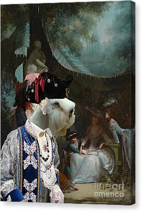 Sealyham Terrier Art Canvas Print Canvas Print by Sandra Sij