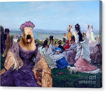 Soft Coated Wheaten Terrier Art Canvas Print Canvas Print