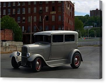 1931 Ford Model A Sedan Hot Rod Canvas Print