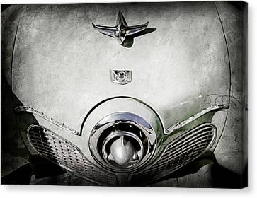 1951 Studebaker Commander Hood Ornament Canvas Print