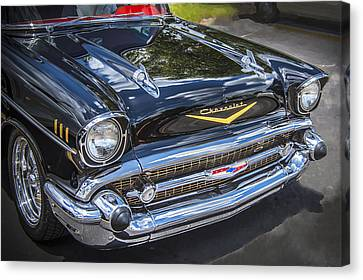 1957 Chevrolet Bel Air Canvas Print by Rich Franco