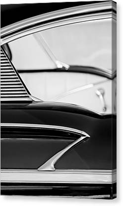 1958 Chevrolet Belair Abstract Canvas Print by Jill Reger