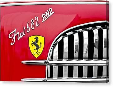 1959 Fiat Tipo 682 Rn-2 Transporter Emblem  Canvas Print