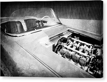 1960 Chevrolet Corvette Custom Engine Canvas Print